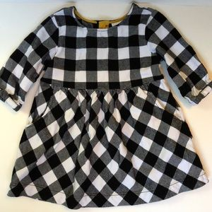 Hanna Andersson toddler girl dress, size 3 (90 cm)